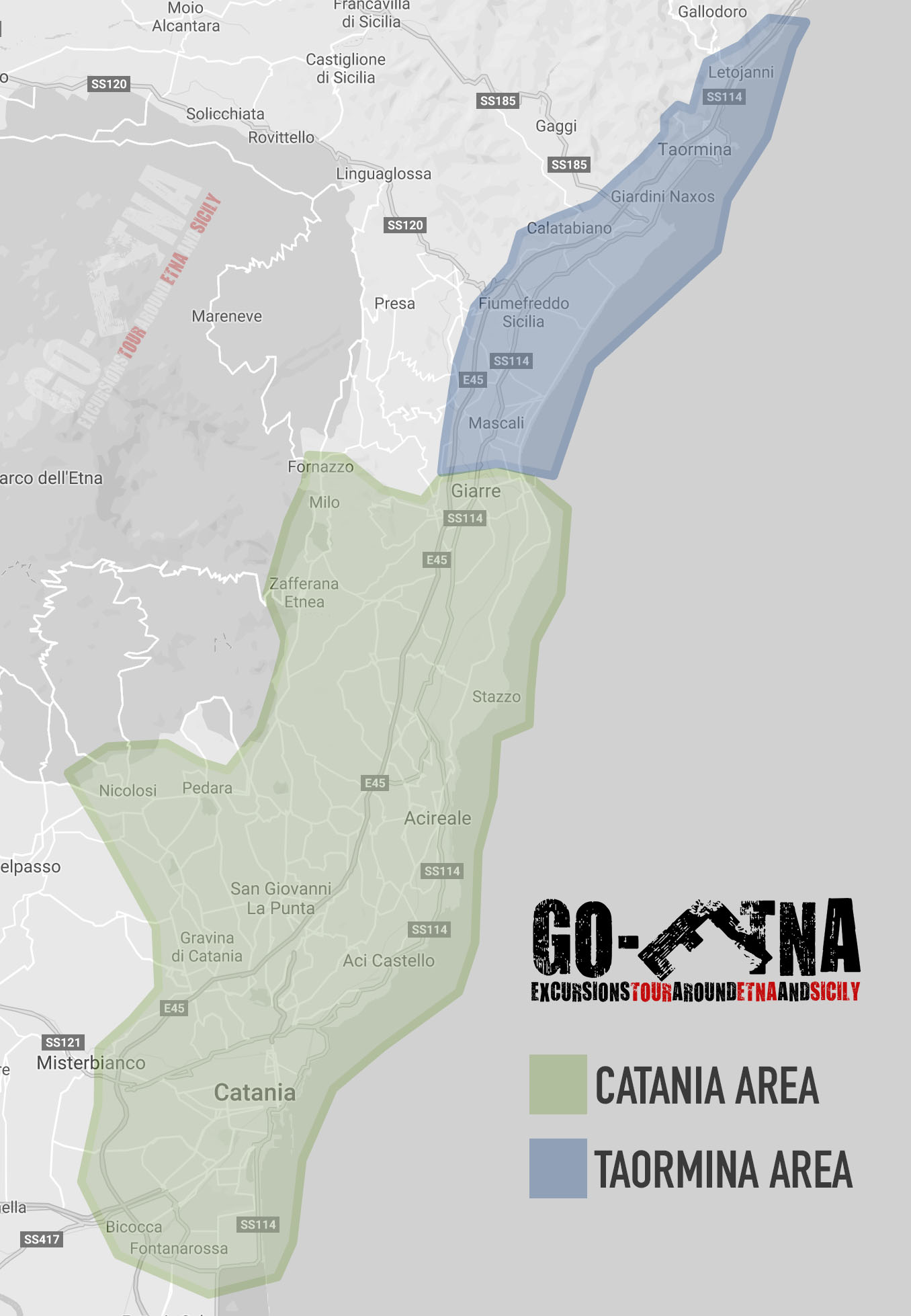 Go-Etna Pickup Area